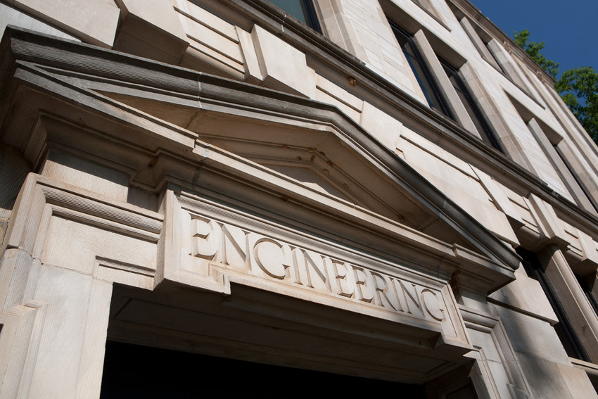 Engineering Building Entrance