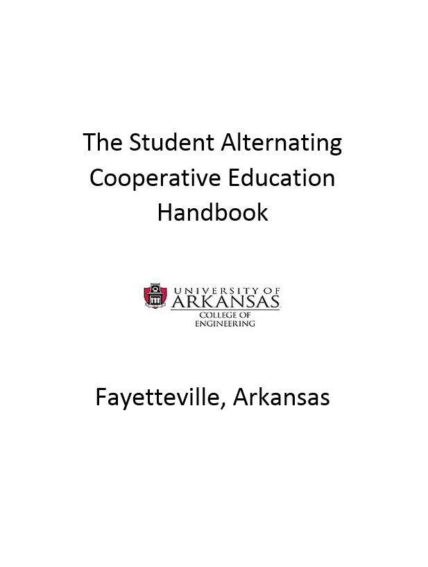 Student Alternating Cooperative Education Handbook Image